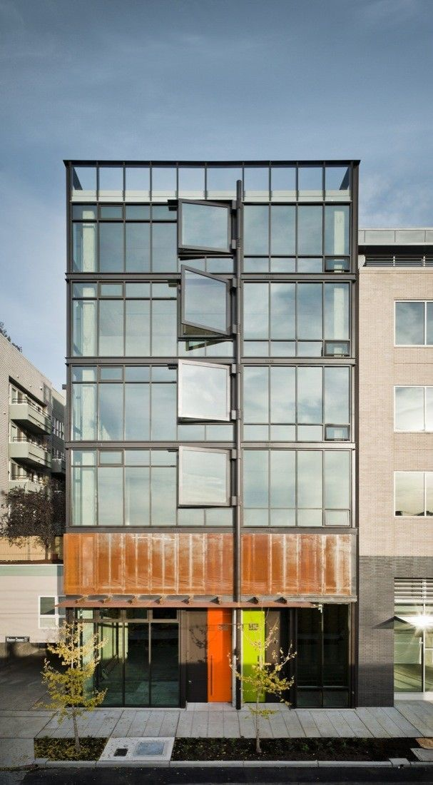 13 Projects By Olson Kundig Architects Embedded In Their Surroundings Apartment Architecture Facade Architecture Architect