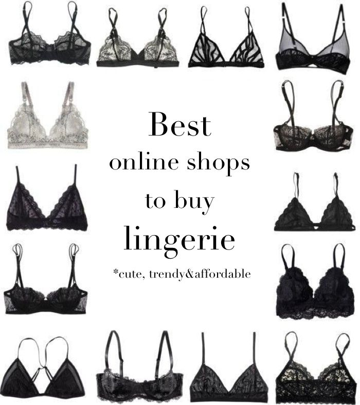 Best online shops to buy lingerie and intimates