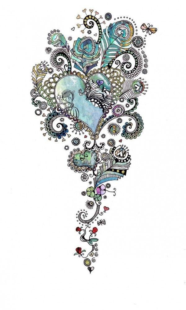 Small Friendship Necklace - FriendsTattoo Sterling Silver - Gift Best Friend…