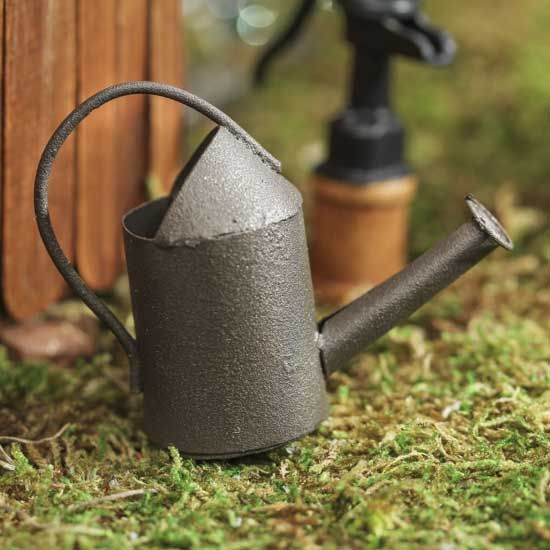 Miniature Rustic Watering Can  $2.99