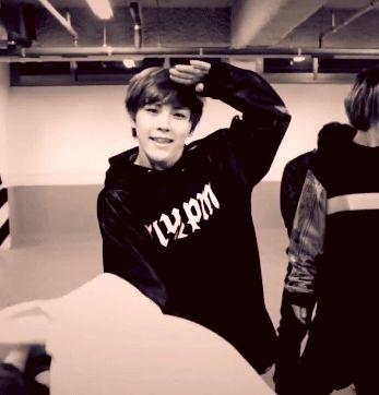 Hansol, in the Arario Choreography video... ugh!