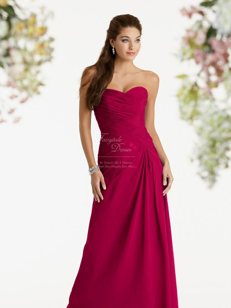 25  best ideas about Raspberry bridesmaid dresses on Pinterest ...