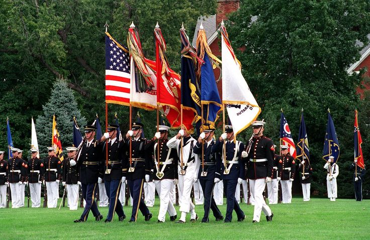United States of America: Joint Service Color Guard