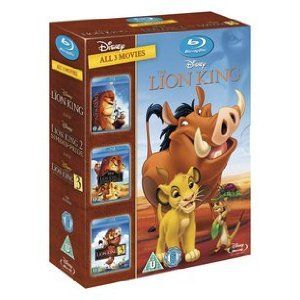 The Lion King Trilogy - Triple Pack Blu-ray Disney animated feature following the story of Simba - a naive and curious lion cub who must struggle to find his place in natures great circle of life. Along the way Simba is befriended by a host of  http://www.MightGet.com/january-2017-12/the-lion-king-trilogy--triple-pack-blu-ray.asp