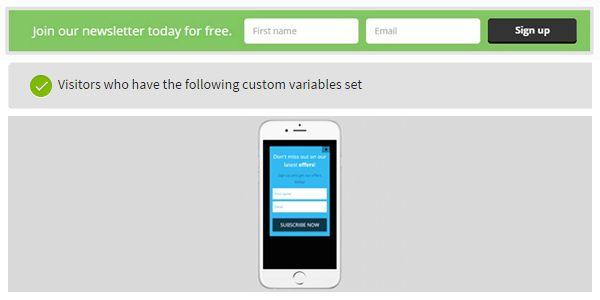 New release: Nanobar, Custom variables, New mobile template