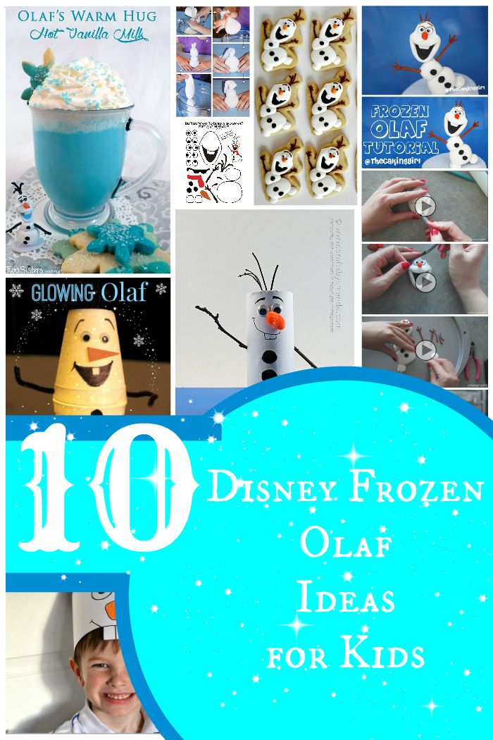 10 disney frozen olaf party Ideas for kids including recipes, tutorials and fun creatively crafty ideas.