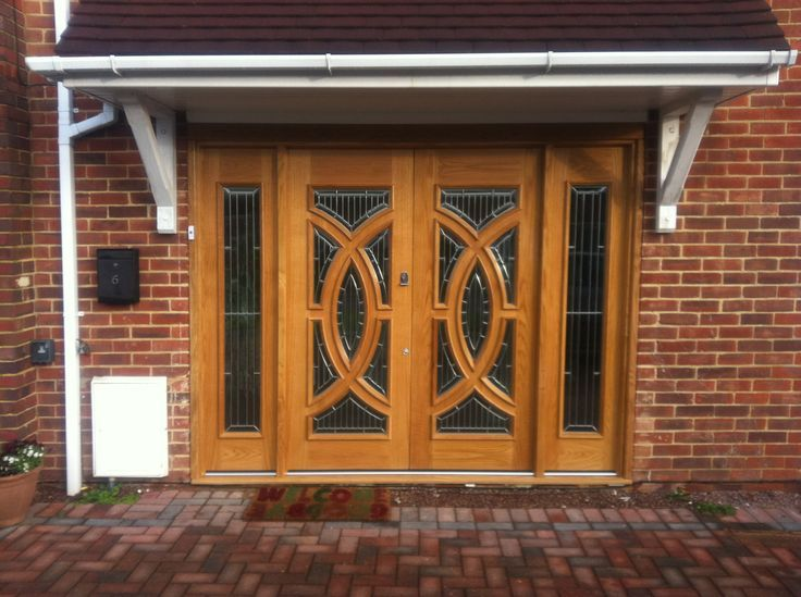 Buy Online Majestic Grand Entrance Oak Doors from Emerald Doors UK at affordable rates. & 103 best External Doors \u0026 Exterior Doors at Emerald Doors Ltd images ...