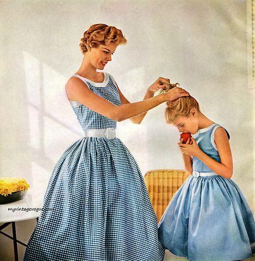 Simplicity Pattern Book Summer 1954 Darling Mother