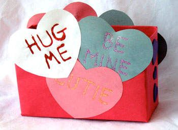 valentine mailbox idea from a cereal box - Valentine Mailboxes