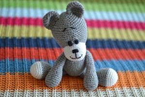 Lukas de Beer, #haken, gratis patroon, Nederlands, knuffel, baby, kraamcadeau
