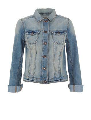 Blue Denim Jacket  | New Look