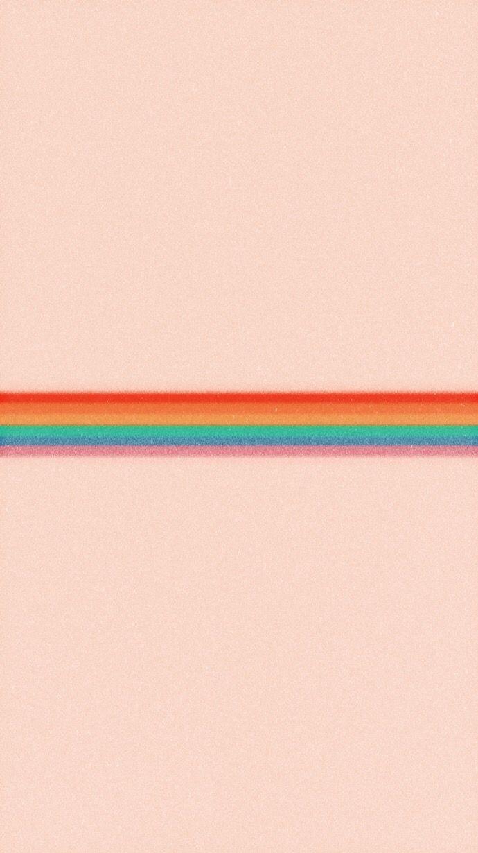 90 S Rainbow Stripe Iphone Wallpaper Stripe Iphone Wallpaper