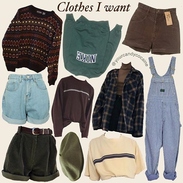Just A Simple Post For Today A Clothes Retro Vintage Aesthetic Clothing Brown Green Armygreen Beret Overal Retro Outfits Aesthetic Clothes Clothes