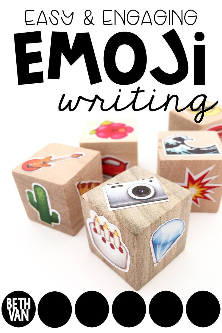 theteachyteacher: EMOJI EASY PEASY WRITING Activity
