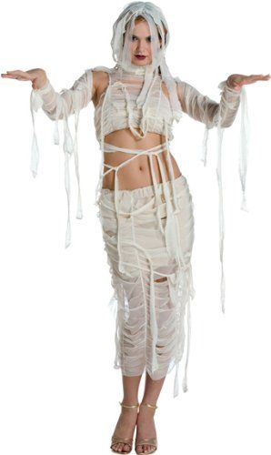 Adult Sexy Mummy Costume Do you want to dress up as a cute and sexy mummy character for Halloween this year?