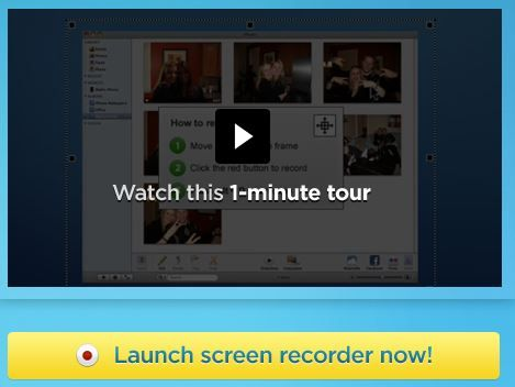 Instant screencast, just click and record
