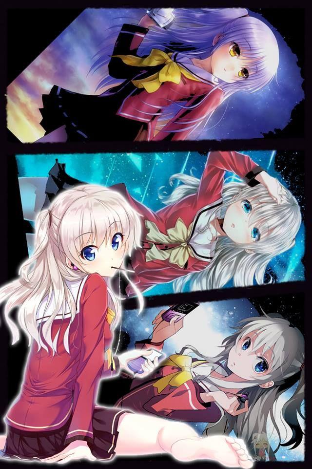 Pin Di Anime Manga Charlotte anime mobile wallpaper