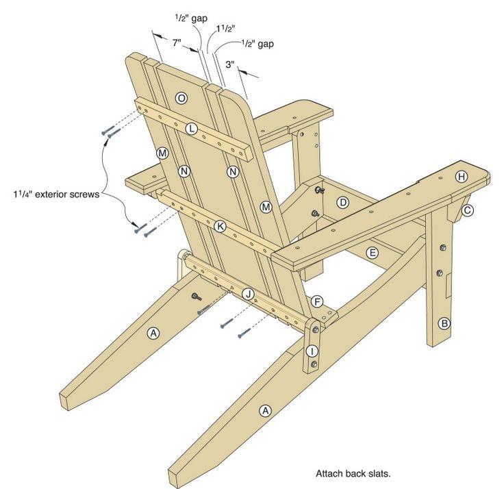 34 best images about adirondack chair plans on pinterest. Black Bedroom Furniture Sets. Home Design Ideas
