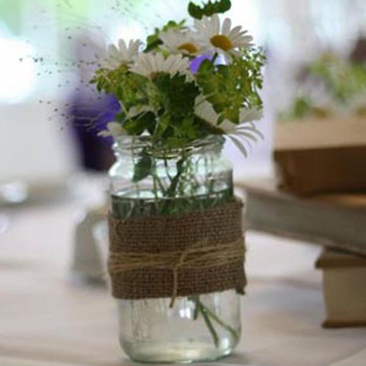 hessian fabric weddings