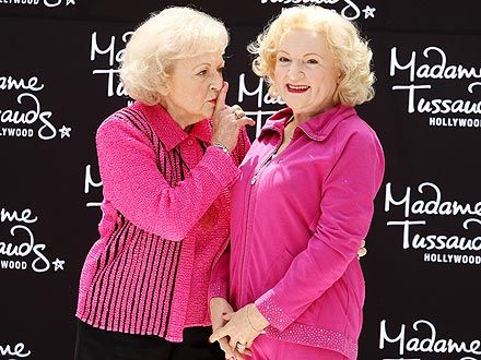Betty White Is 'Impressed' by Her Brand New Wax Figure