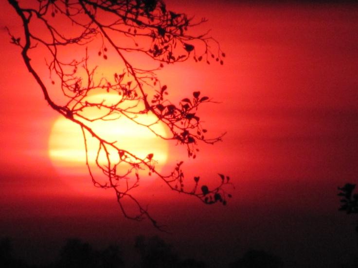 Mazury / sunset