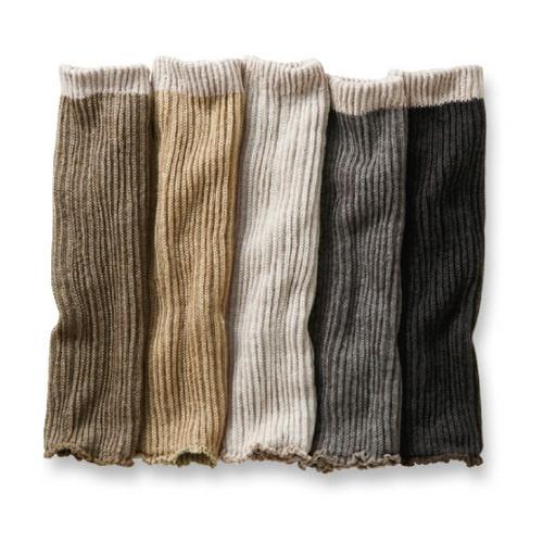 冷えとり専科 シルクとウールでていねいに作った あたたかさが調節できる2-WAYロングレッグウォーマーの会