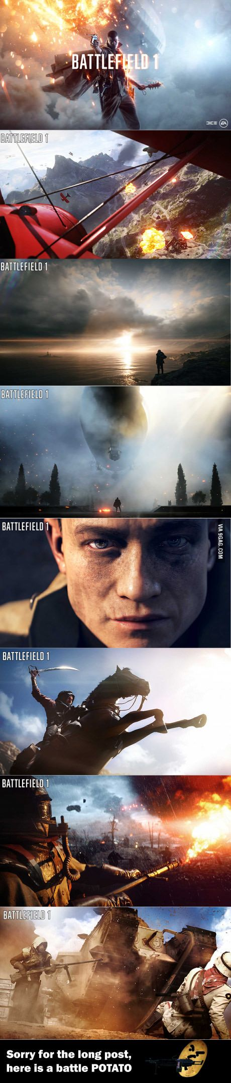 Battlefield 1 is coming guys. And it looks amazing! BTW, Check out this FREE tool to help you with your game -> cheating-games.im...
