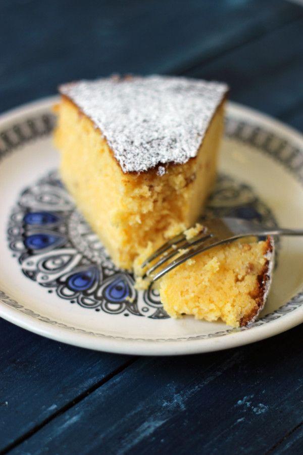 Heavenly Cupcake | Polentakaka med citron | http://heavenlycupcake.se