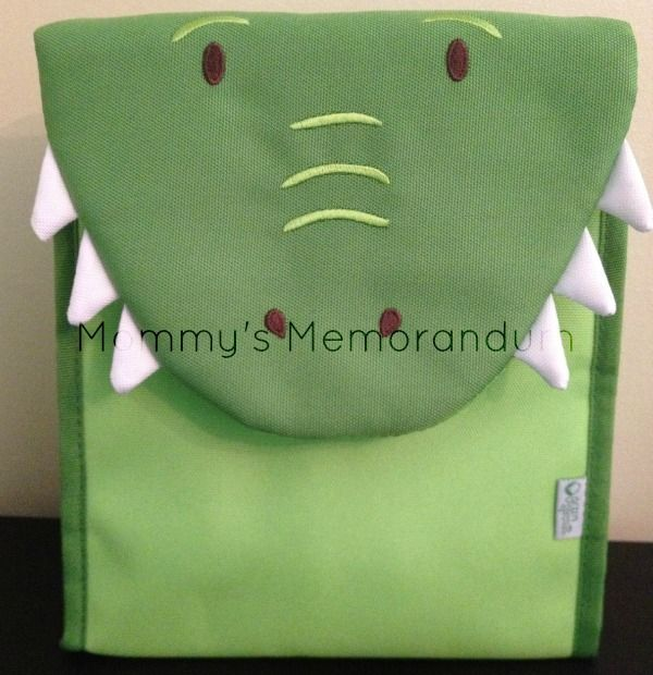 crocodile lunch bag by green sprouts