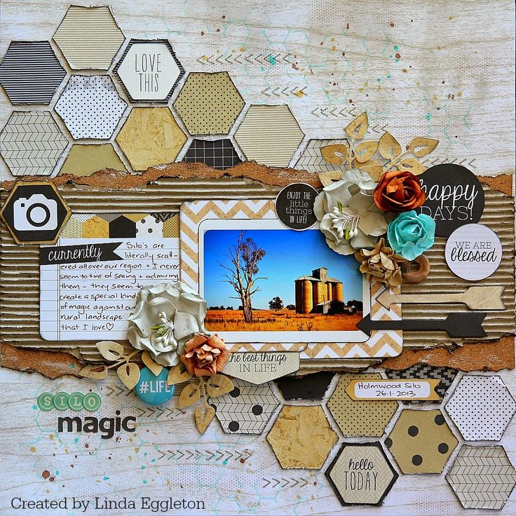 All About Scrapbooks - Kaisercraft, Hello Today by Linda Eggleton
