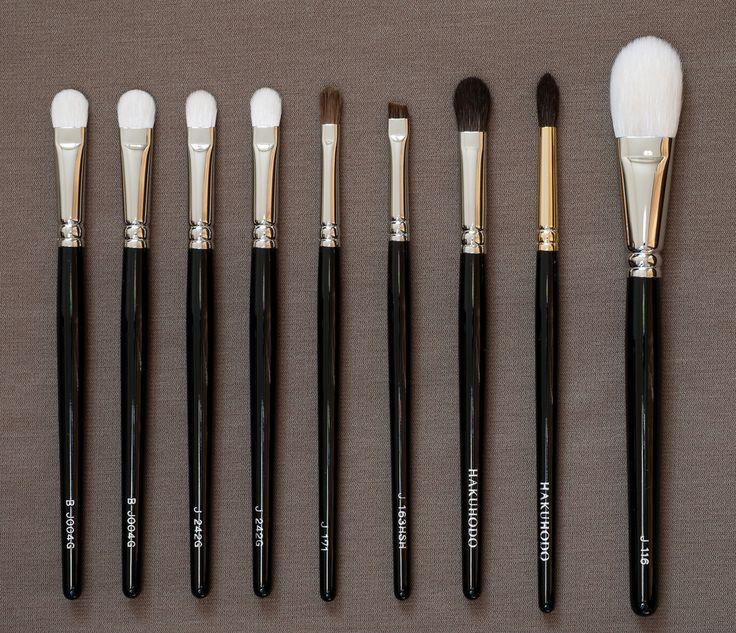 hakuhodo eyeshadow brush comparison - Google Search
