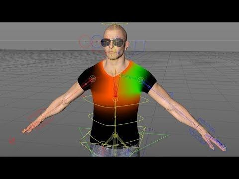 New in Cinema 4D R19: Rig and Animate Characters with Improved