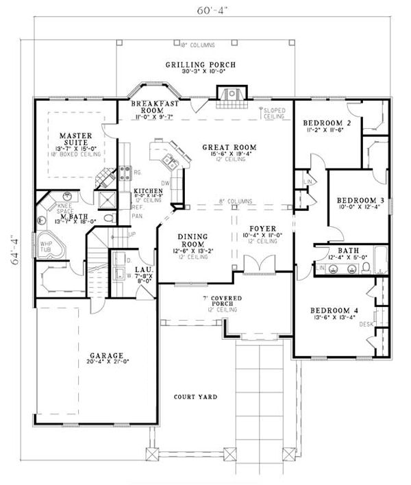 17 Best Hillside House Plans Images On Pinterest