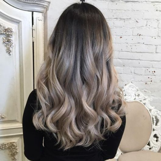 TrendAlert Ash Balayage. A deeper transition from the dark side of ash blonde