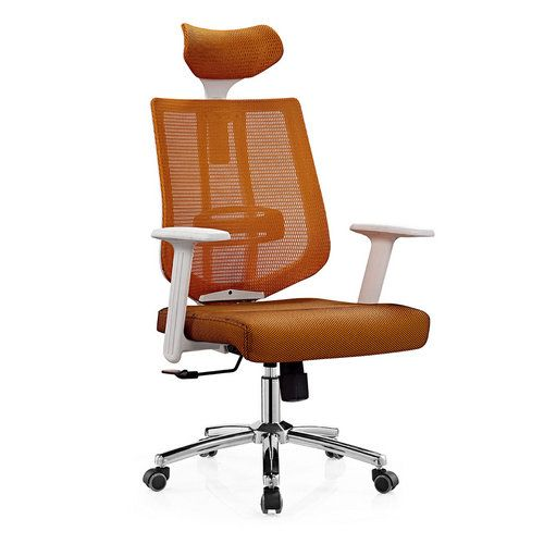 Foshan high quality fashion high back ergonomic chair chrome metal mesh office chair price / high back office chairs / ergonomic chairs online and executive chair on sale, office furniture manufacturer and supplier, office chair and office desk made in China