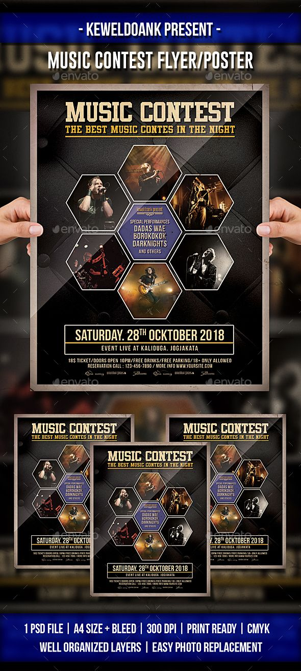 Music Contest Flyer / Poster