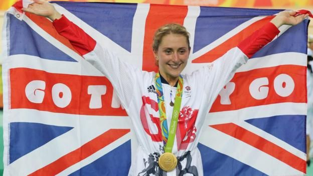 Laura Trott becomes the first British woman to win four Olympic gold medals by…