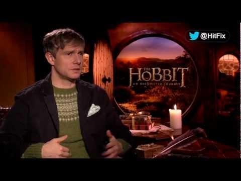 Martin Freeman talks The Hobbit: An Unexpected Journey (1/3)