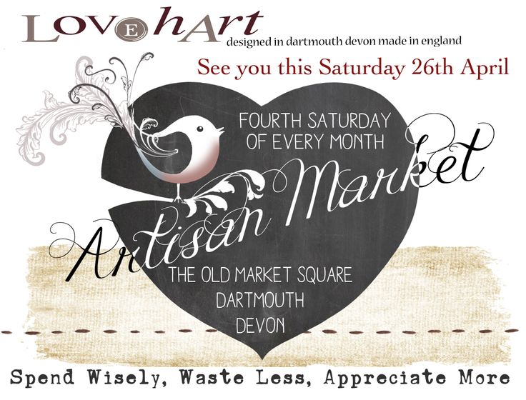 Dartmouth Artisan Market Fourth Saturday of every month, not to be missed! https://www.facebook.com/pages/Dartmouth-Artisan-Market/2948965340006