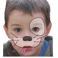 Maquillage enfant Chien , Tuto maquillage enfant - Loisirs créatifs