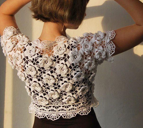 Simply gorgeous crochet lace!