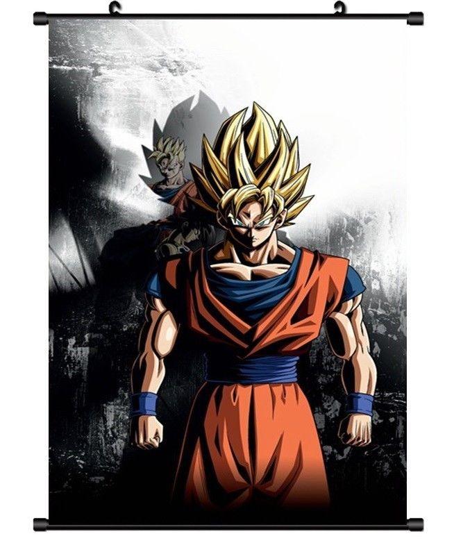 Hot Japan Anime Dragon Ball Z Goku Home Decor Poster Wall Scroll 8 X12 F40 Anime Dragon Ball Super Dragon Ball Art Dragon Ball Z
