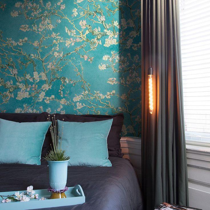 florale tapeten mit bl mchen ranken und bl ten in unserem onlineshop schlafzimmer pinterest. Black Bedroom Furniture Sets. Home Design Ideas