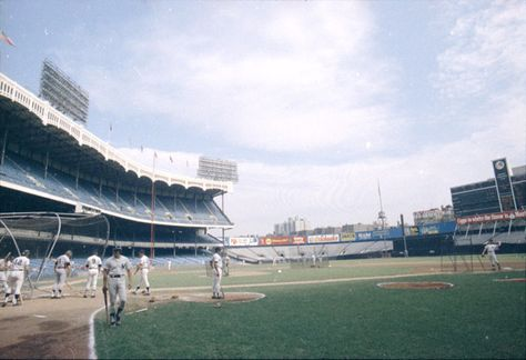 The original Yankee Stadium the way I remember first seeing it - in 1973, before the renovation