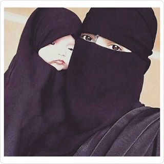 ::::☝️ﷺ♔❥♡ ♤✤❦♡ ✿⊱╮☼ ☾ PINTEREST.COM christiancross ☀ قطـﮧ‌‍ ⁂ ⦿ ⥾ ❤❥◐ •♥•*⦿[†] :::: Niqabi Ummi & her daughter♥ +++ هذا جنته علىّ أمى ! و لما أخلّفهن، حا أخلِّصه منهن