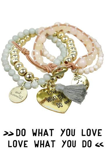 S14 LOVE BRACELET SET – GOLD