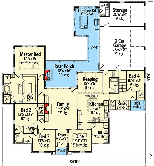 Floorplan for hgtv dreamhome 2015 autos post for St jude dream home floor plan