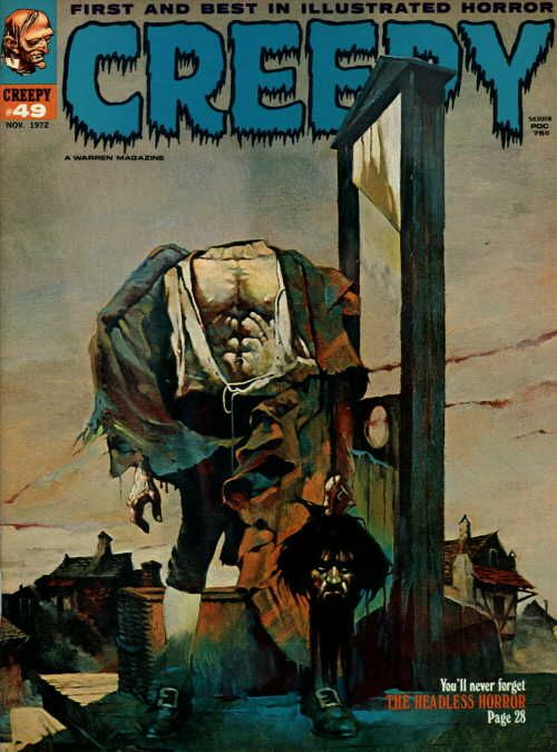 Creepy #49 - Cover by Sanjulian