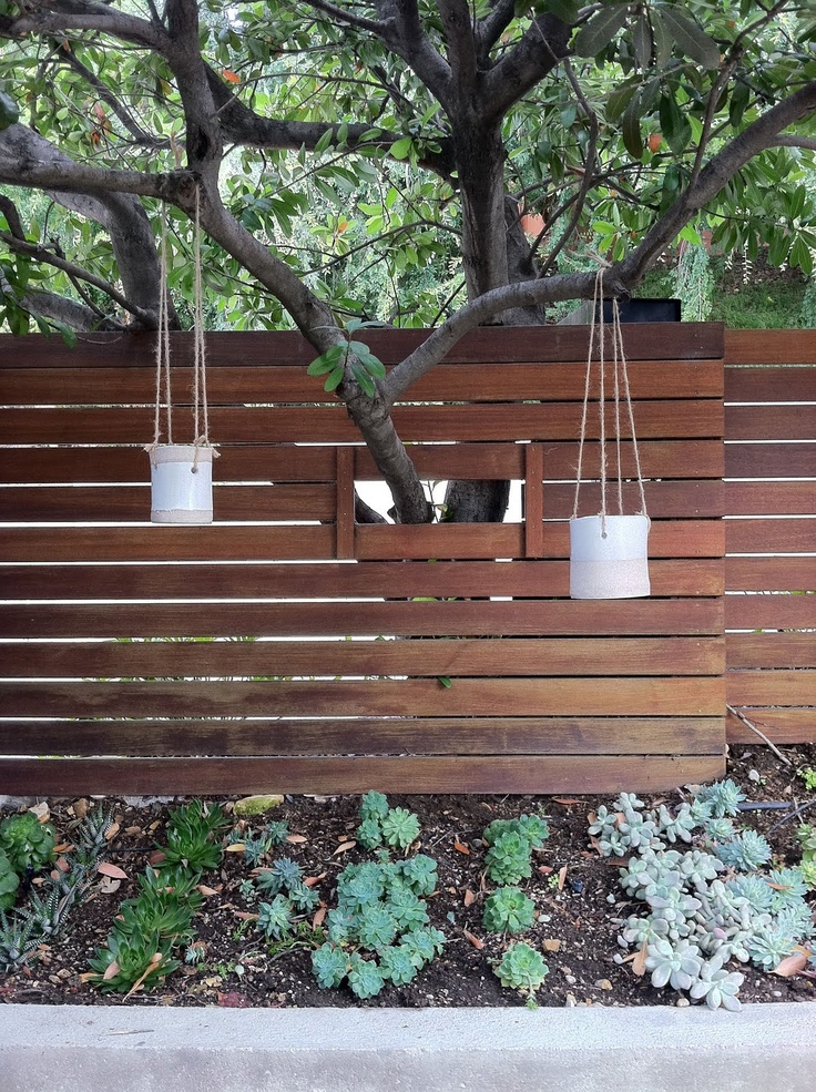 hanging pots by tw pottery