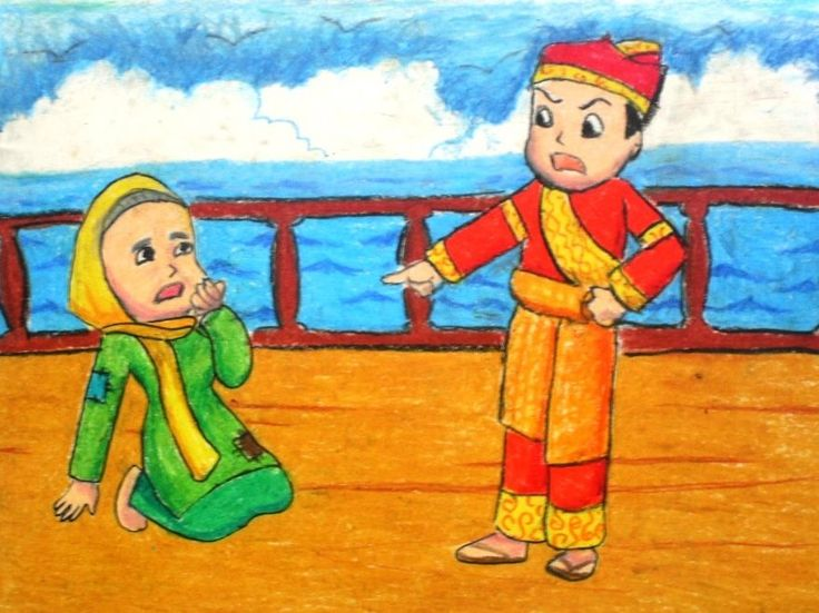 """Cerita Rakyat Dalam Bahasa Inggris Berjudul """"Malin Kundang"""" Lengkap Dengan Artinya - http://www.ilmubahasainggris.com/cerita-rakyat-dalam-bahasa-inggris-berjudul-malin-kundang-lengkap-dengan-artinya/"""